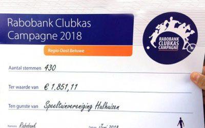 Clubkascampagne 2018