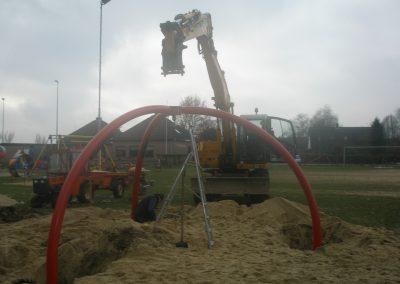 Uitbreiding speeltuin 2010